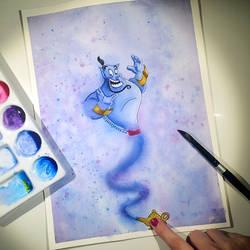 Genie, you're free! by jessyG22