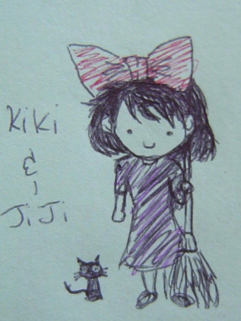 Kiki and Jiji by aiaoicho