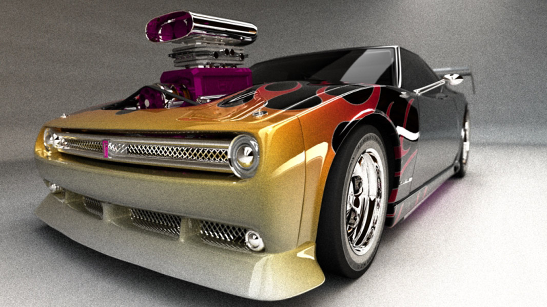 new retro style muscle car by cwalls on deviantart. Black Bedroom Furniture Sets. Home Design Ideas