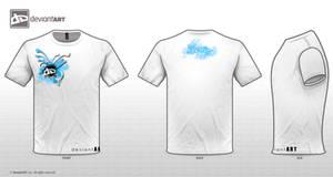DA Logo TShirt Urban ver2 by EvilMeRc8