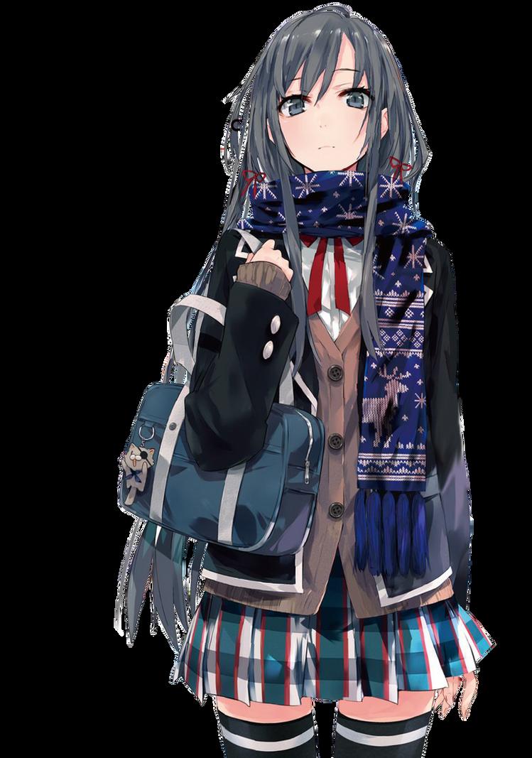 Yukino Yukinoshita Render by EvilMeRc8