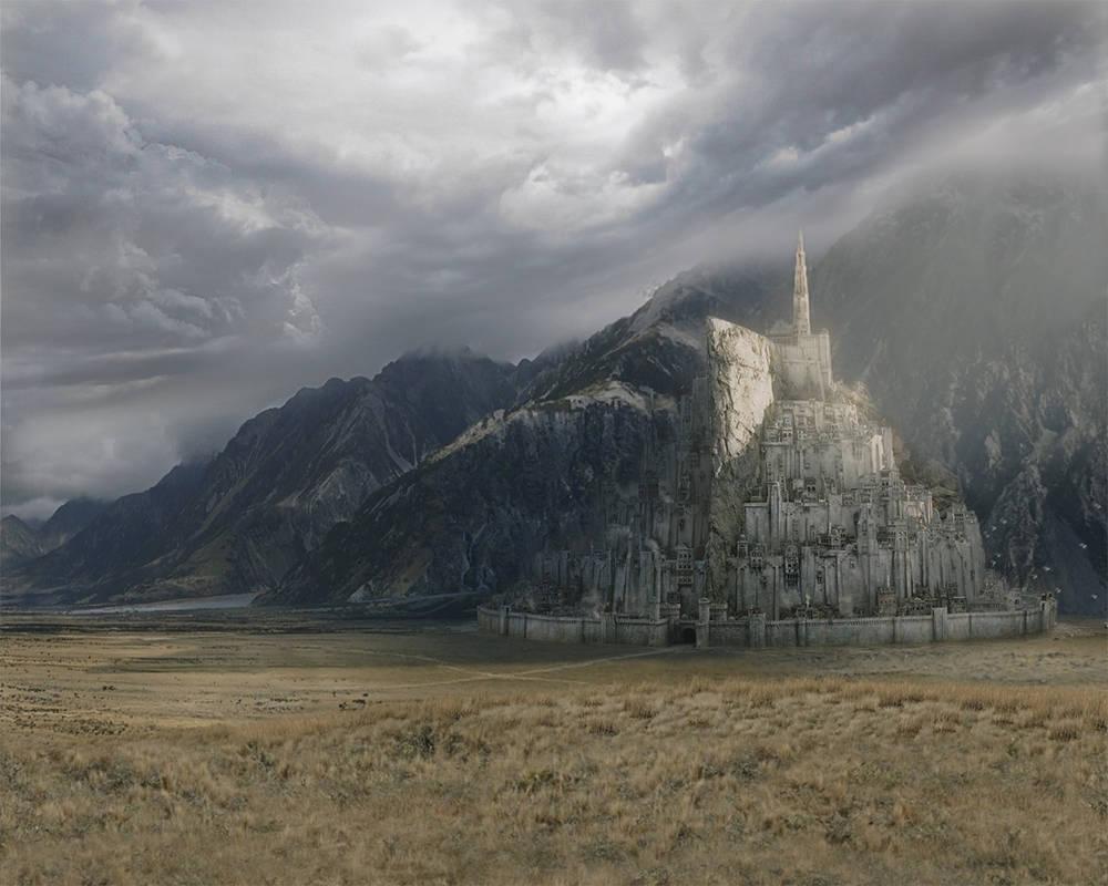 Minas Tirith Wallpaper By Lexgoomer On Deviantart