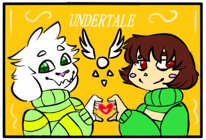 Undertale's 3rd Anniversary by WereWolfGirl231