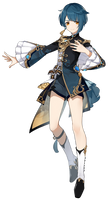 Xingqiu Genshin Impact Character PNG