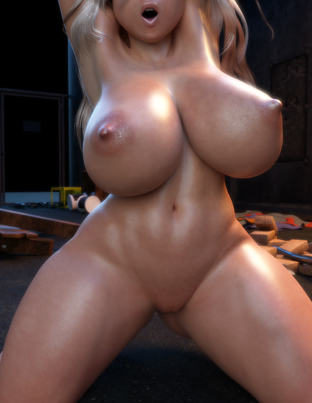 Back alley 3d interracial gangbang and some furry fucking 2