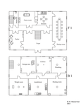 Mansion's floor plans