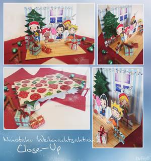Ninotaku Christmas Close Up