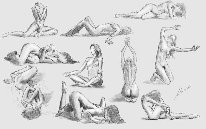 Figure drawing practice by Nemelj on DeviantArt