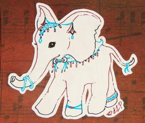 Little Elephant by lllLonelyWandererlll