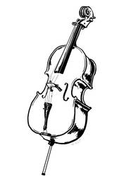 Cello by lllLonelyWandererlll