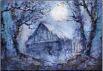 in blue, blue forest ..... by kosharik69