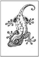gecko by kosharik69