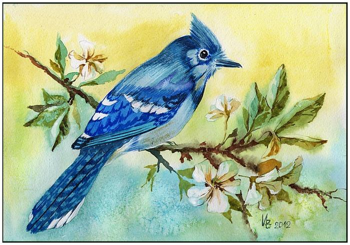The Blue Bird by kosharik69