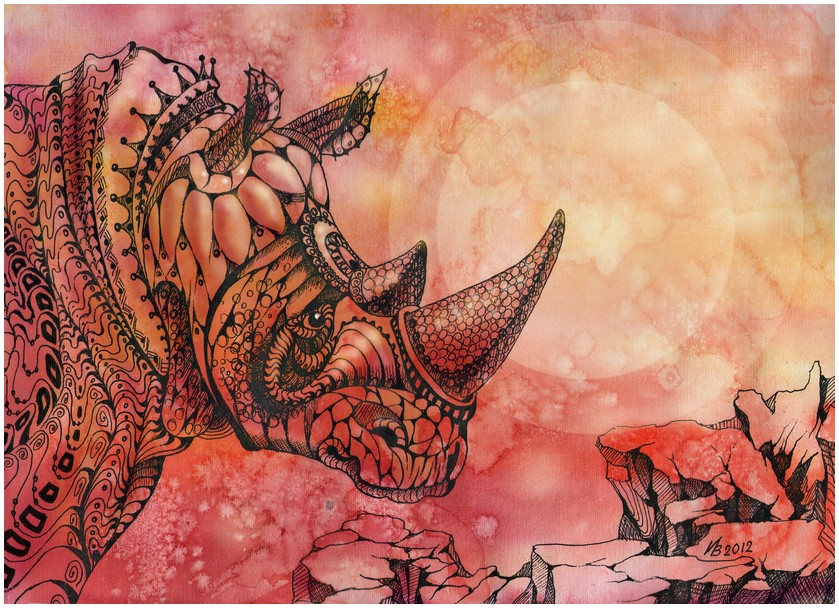 Rhinoceros by kosharik69