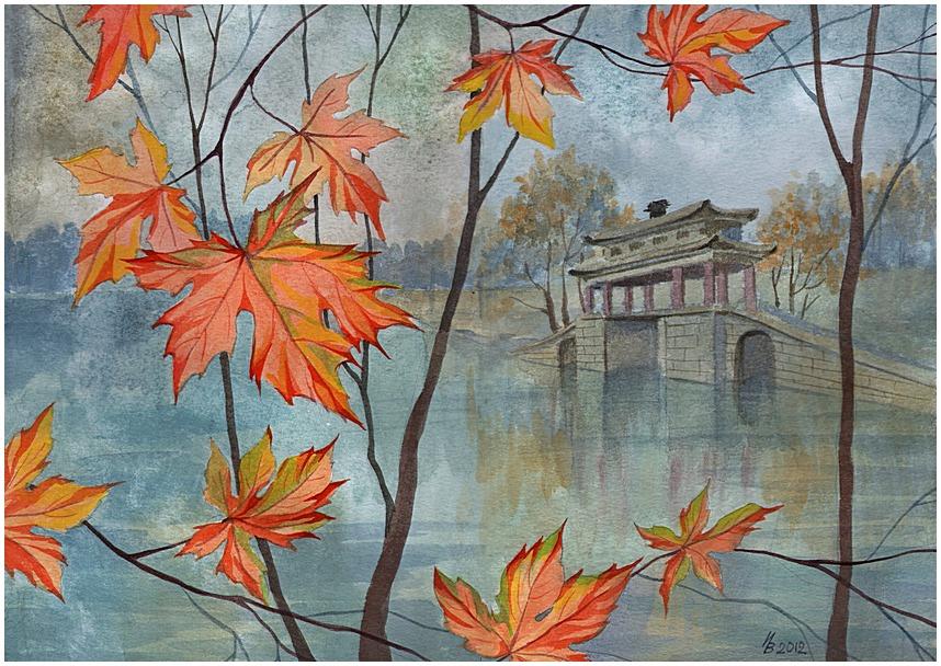 Autumn imagination by kosharik69
