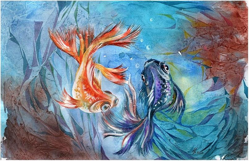 dance under water by kosharik69