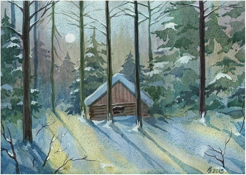 Winter Forest by kosharik69