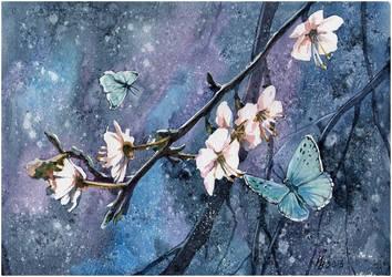 spring butterflies by kosharik69
