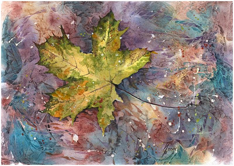 Autumn leaf by kosharik69