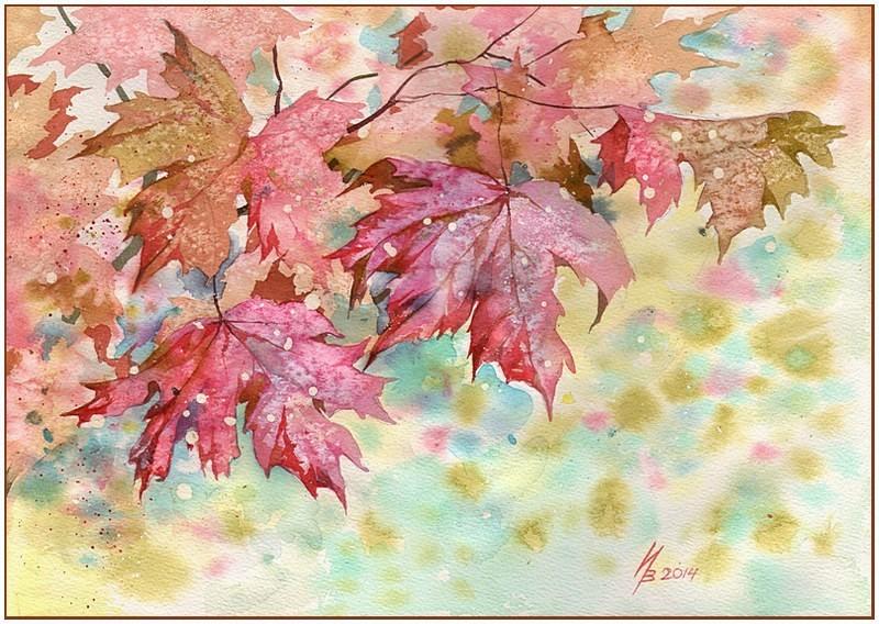 Autumn in red by kosharik69