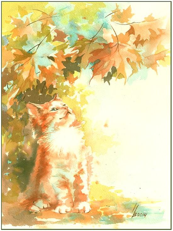 Redhead autumn by kosharik69