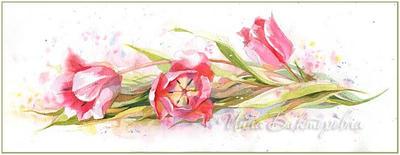 Three tulips by kosharik69