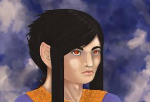 Asian Prince Elf... thing by burnbunnyburn