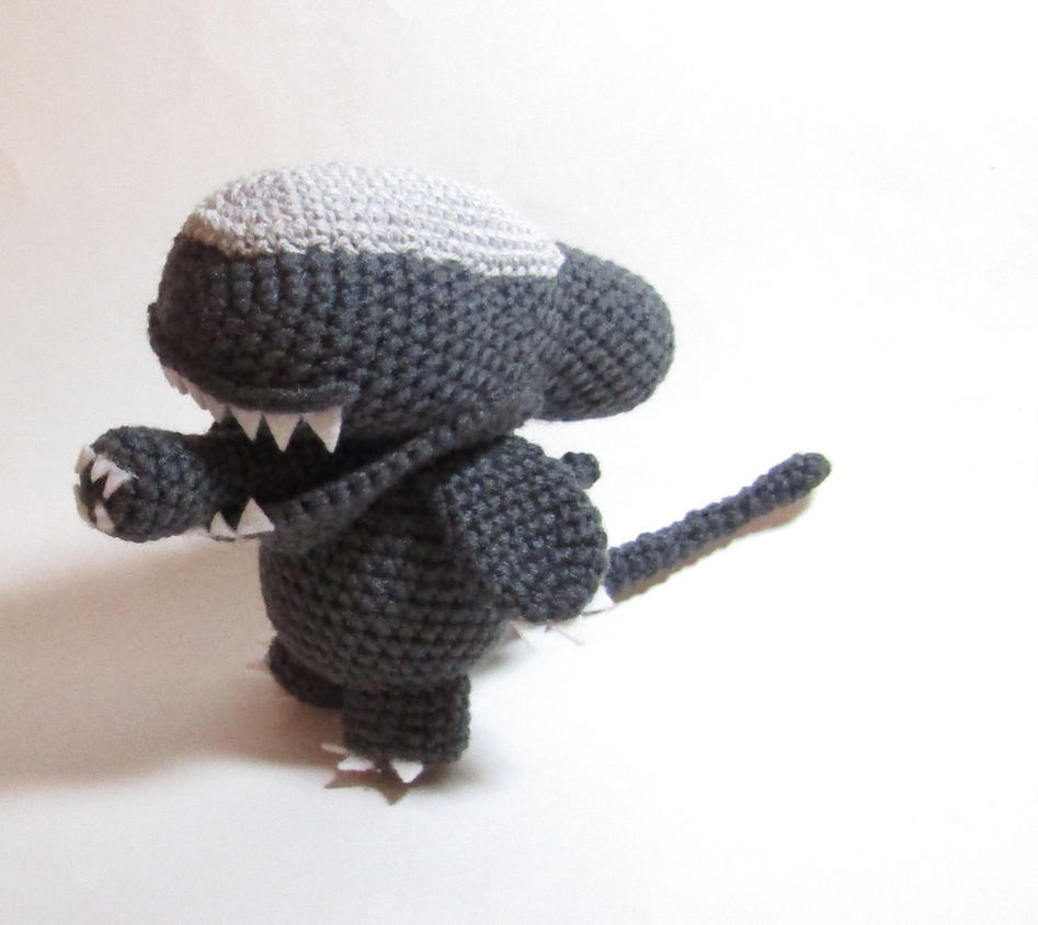 Crochet Alien Xenomorph by Madebyjody666