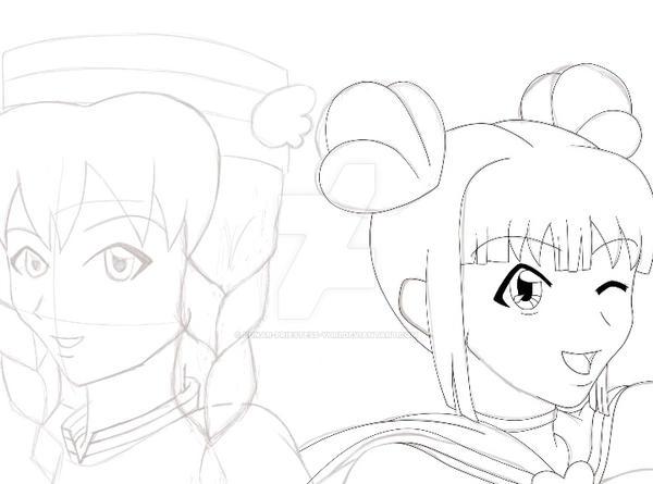 Sparkle and Riley Preview by Lunar-Priestess-Yuri