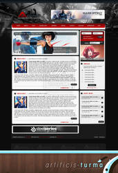 Anime Taku Portal Design