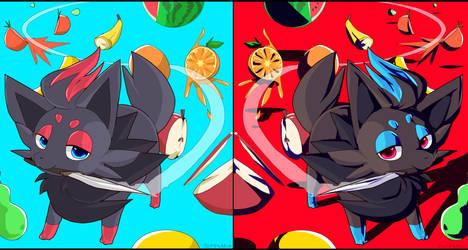 Fruit Slayer Zorua