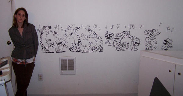 Calvin and Hobbes Mural by K1D6R4Y on DeviantArt