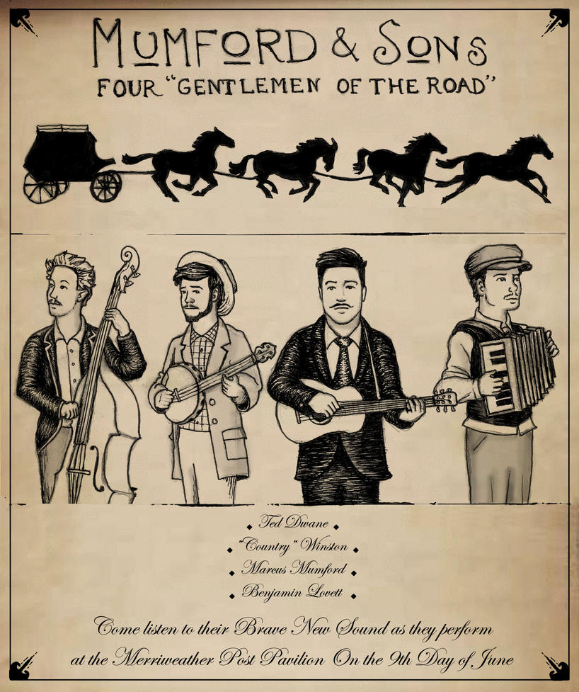 Mumford And Sons Poster By K1d6r4y On Deviantart