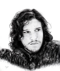 Jon Snow by K1D6R4Y