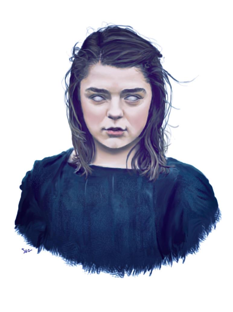 Arya Stark by K1D6R4Y