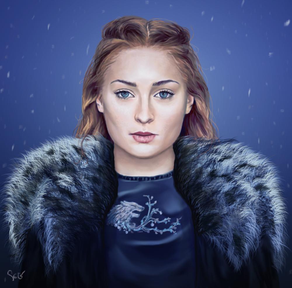 Sansa Stark by K1D6R4Y
