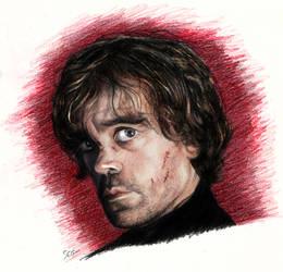 Peter Dinklage as Tyrion Lannister by K1D6R4Y