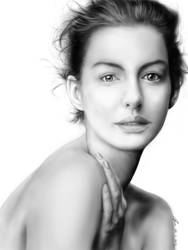 Anne Hathaway by AndyWYC