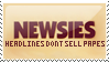 Newsies Stamp by ViciousCherry