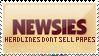 Newsies Stamp by ViciousCherry