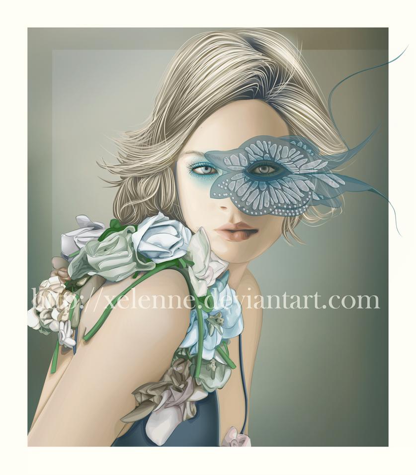 Lady Butterfly by Xelenne on DeviantArt