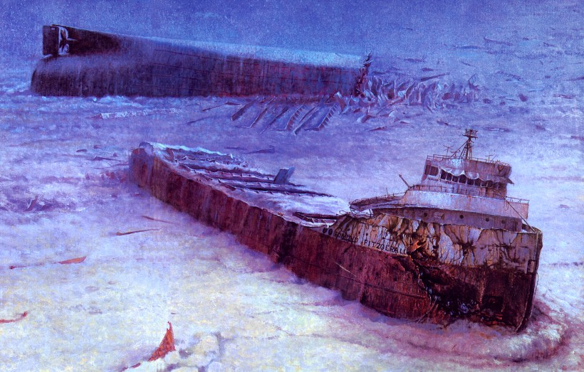Nov 10th, 1975 The Edmund Fitzgerald broke apart and sank