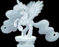 Celestia Statue by SirCxyrtyx