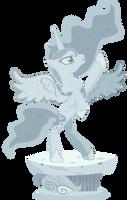 Luna Statue by SirCxyrtyx
