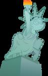 Pony Statue of Liberty