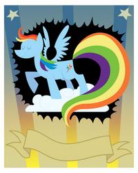 Rainbow Dash Fanclub Poster (Trace)