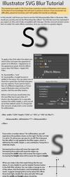 Illustrator SVG Blur Tutorial by SirCxyrtyx