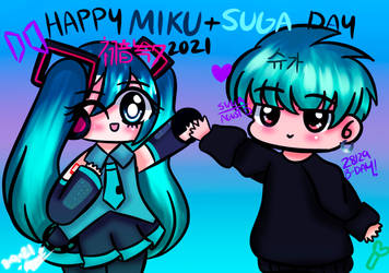 Miku and Suga Day