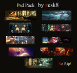 psd pack no.2 by zesk8