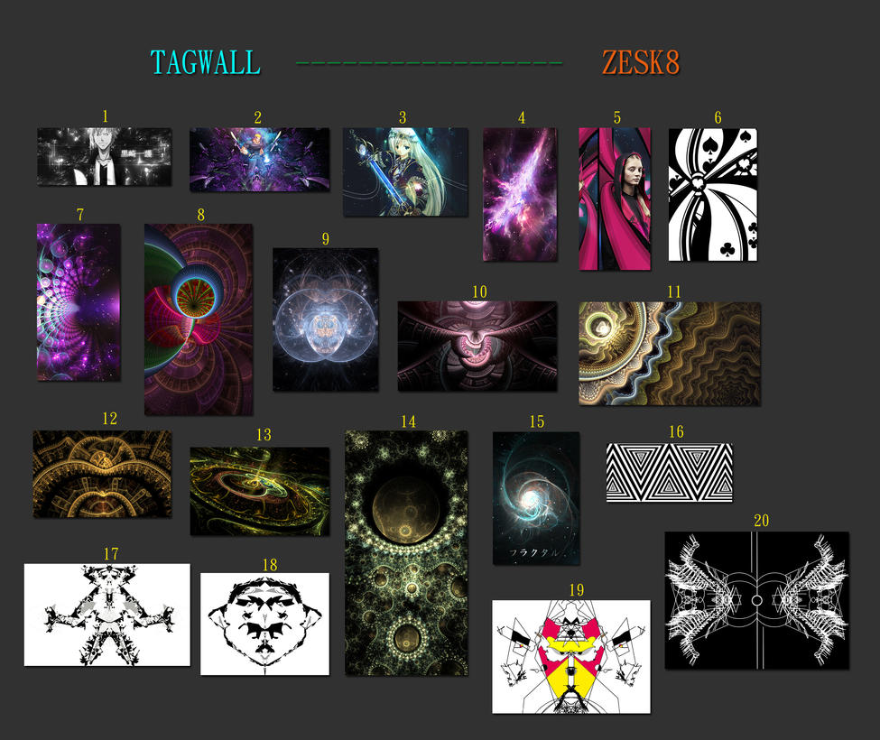 Tag Wall No.13 by zesk8